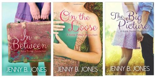 Clean Books for Teens - In Between Series by Jenny B. Jones