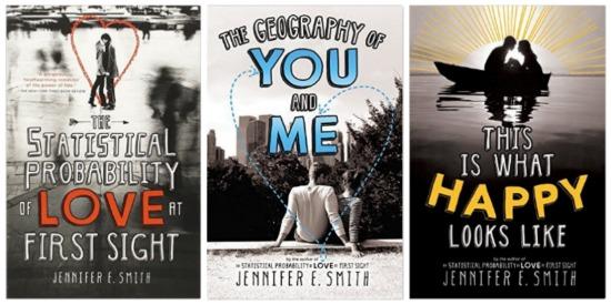 Jennifer E Smith Clean books teens